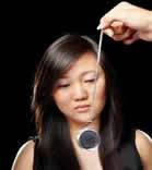 girl being hypnotized