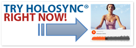 Try holosync right now