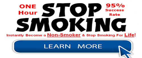 Stop smoking in one hour - guaranteed