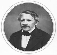 Heinrich Wilhelm Dove in 1857