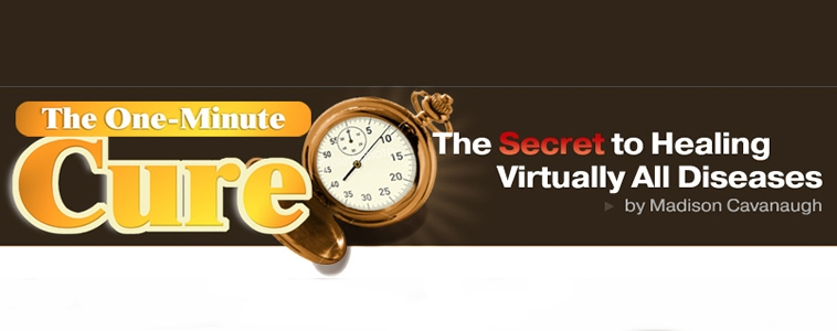 Is This the Secret to Perfect Health? The 1 Minute Cure
